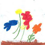 Букет цветов (автор Саша Козырева, 5 лет)